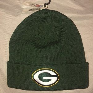NWT NFL Knit Winter Green Bay Packers hat